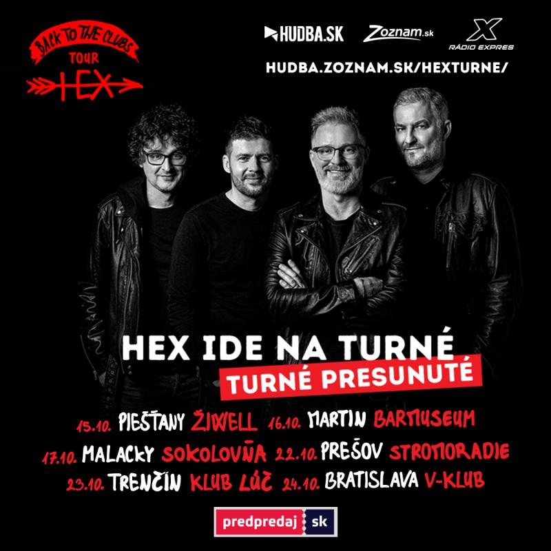 Hex - Back to the clubs Tour - Prešov